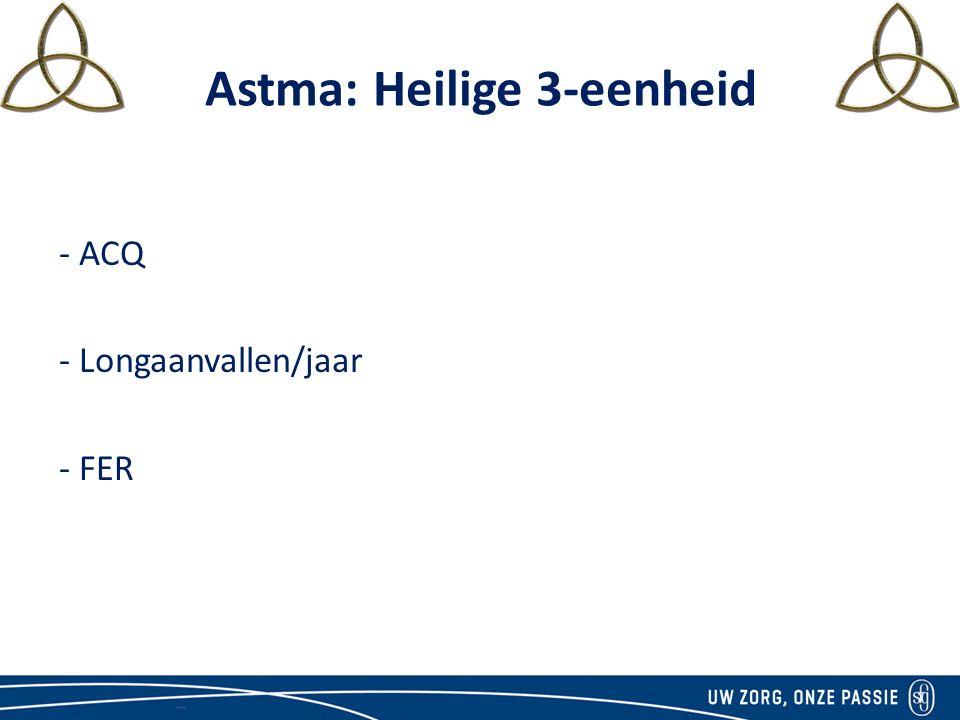 Astma: Heilige 3-eenheid