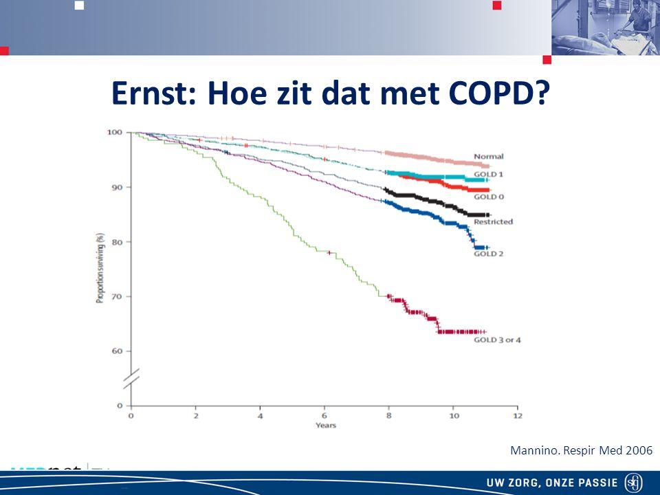 Ernst: Hoe zit dat met COPD