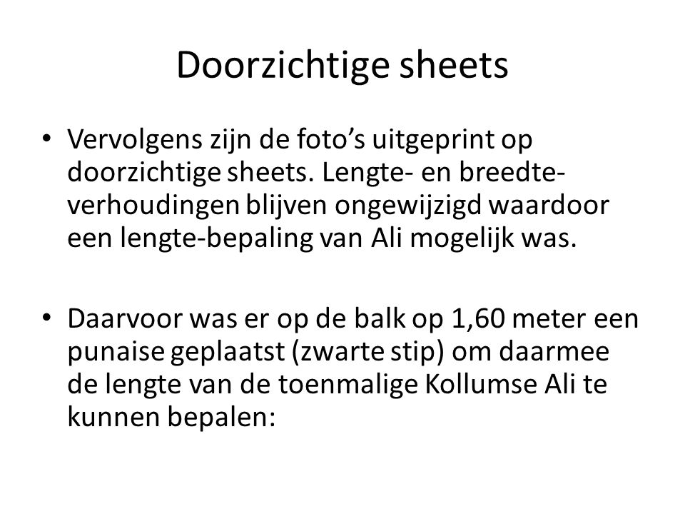 Doorzichtige sheets