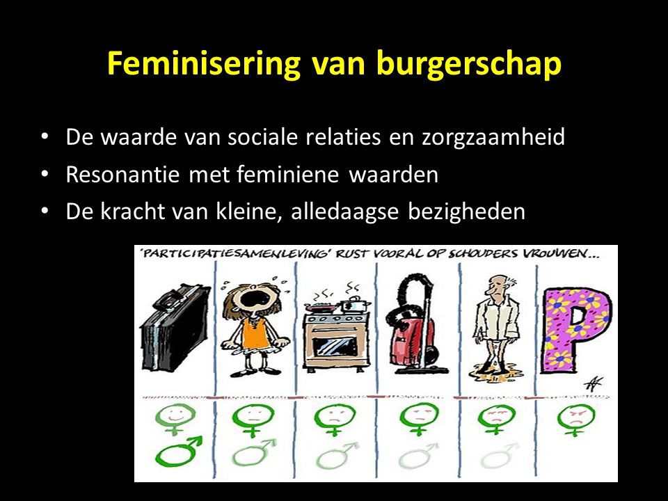 Feminisering van burgerschap
