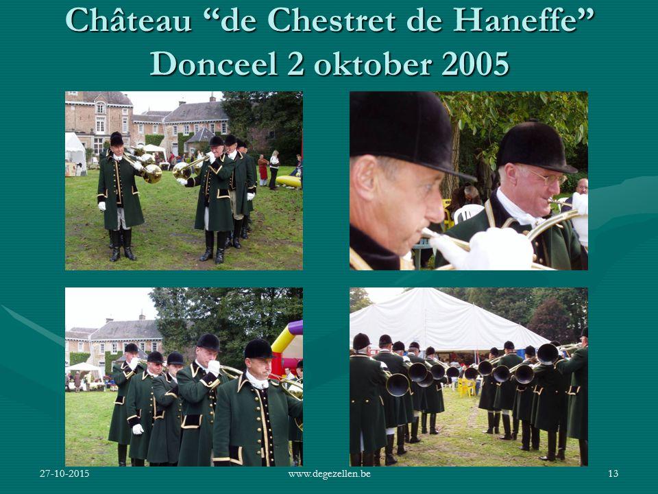 Château de Chestret de Haneffe Donceel 2 oktober 2005