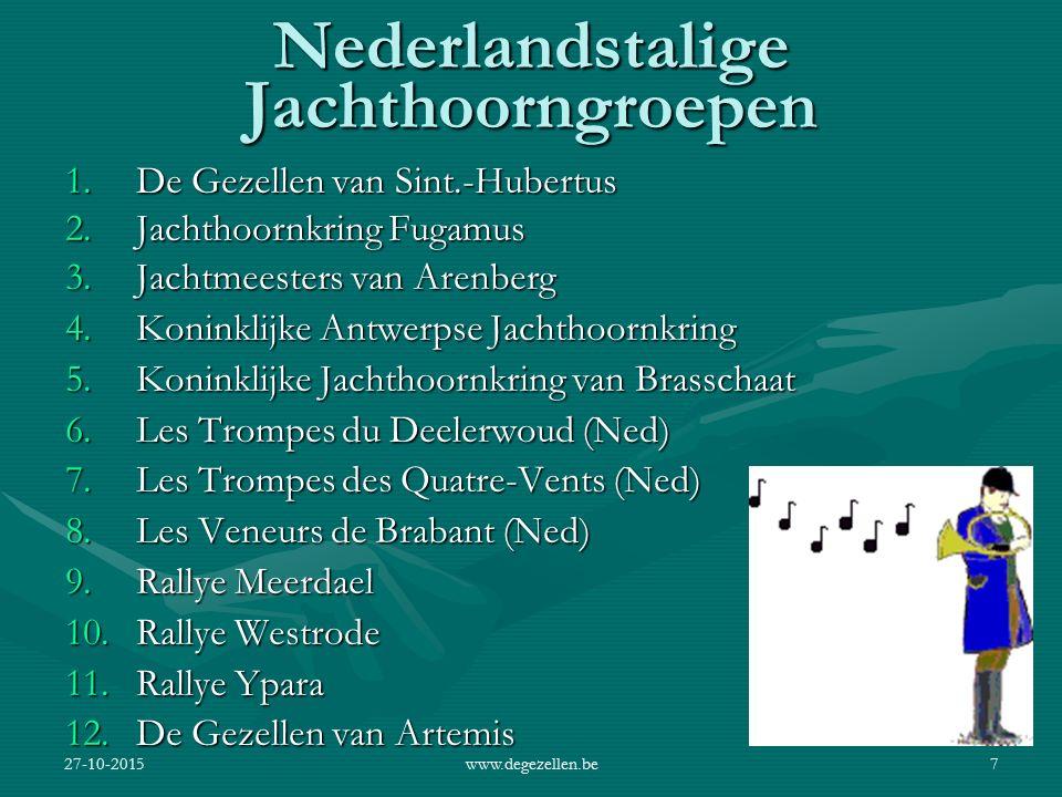 Nederlandstalige Jachthoorngroepen