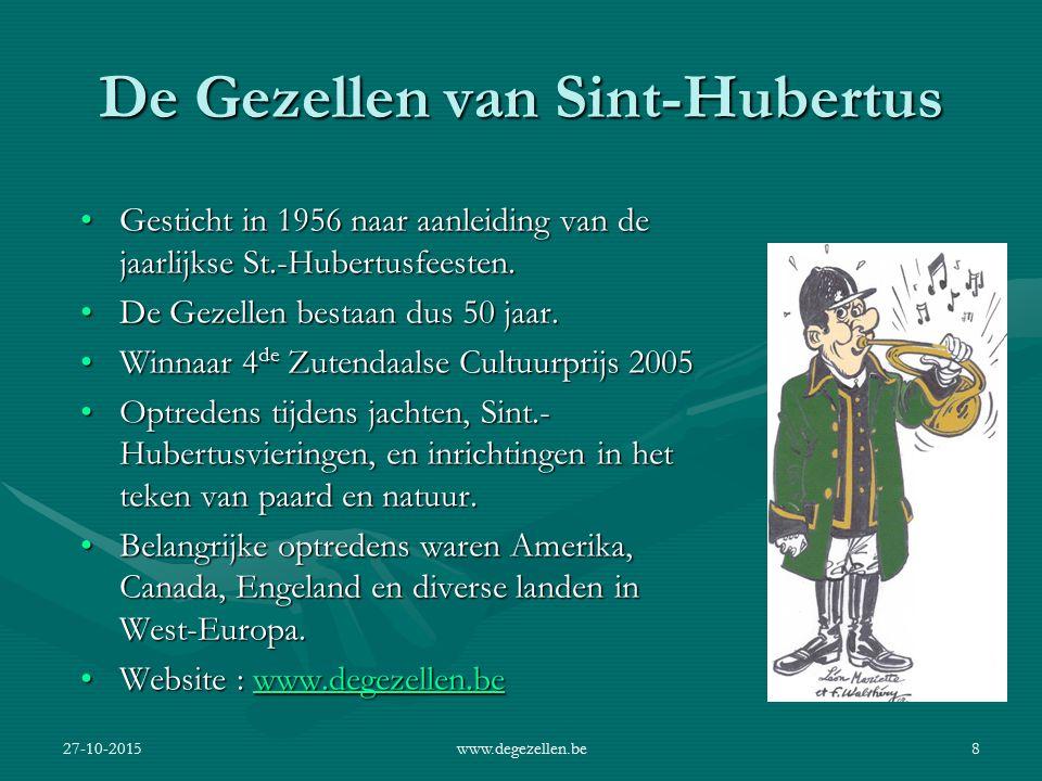 De Gezellen van Sint-Hubertus