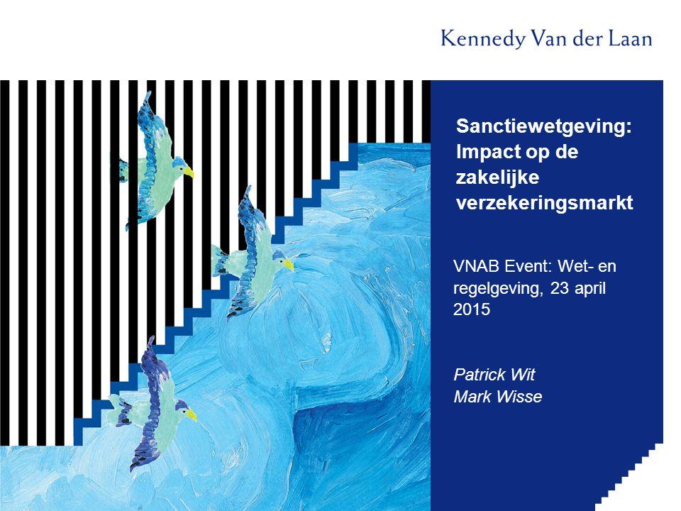 Sanctiewetgeving: Impact op de zakelijke verzekeringsmarkt