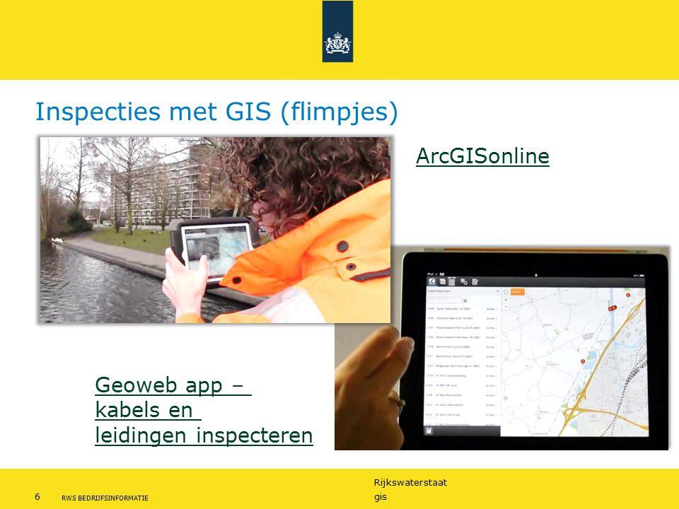 Inspecties met GIS (flimpjes)