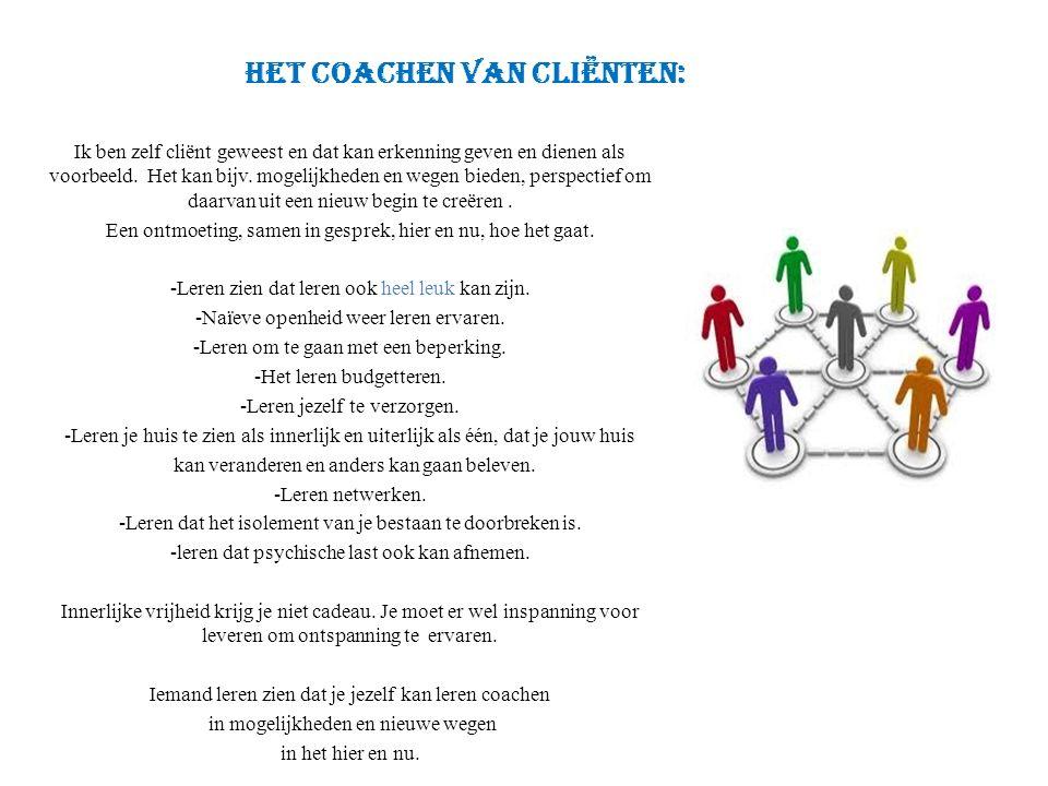 het coachen van cliënten: