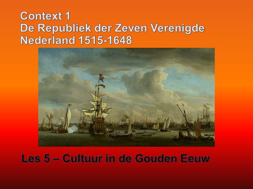 Context 1 De Republiek der Zeven Verenigde Nederland 1515-1648