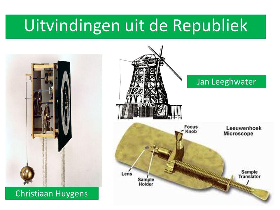 Uitvindingen uit de Republiek