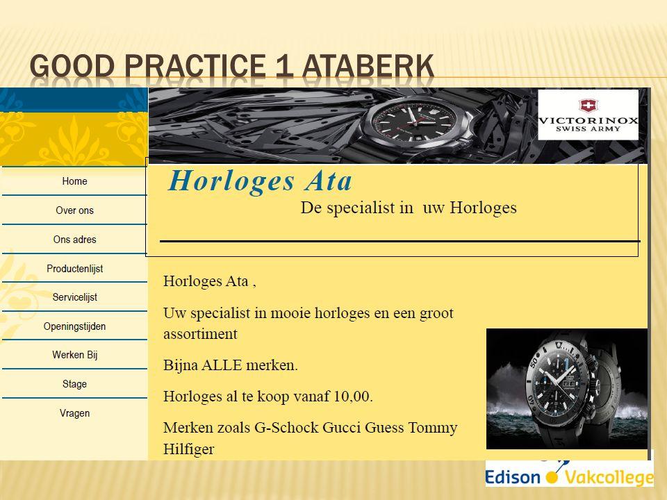 Good Practice 1 Ataberk