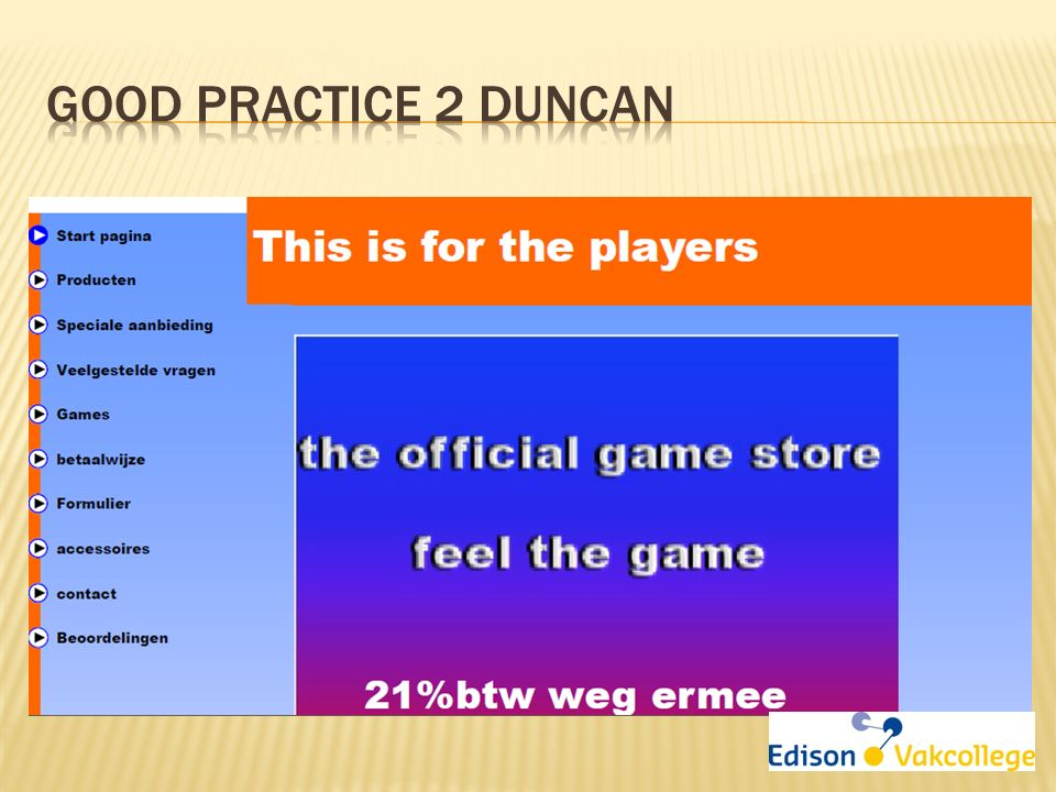 Good Practice 2 Duncan