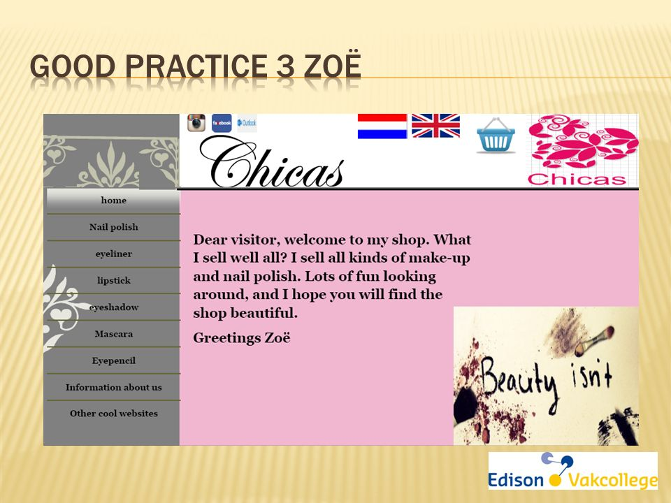 Good practice 3 Zoë