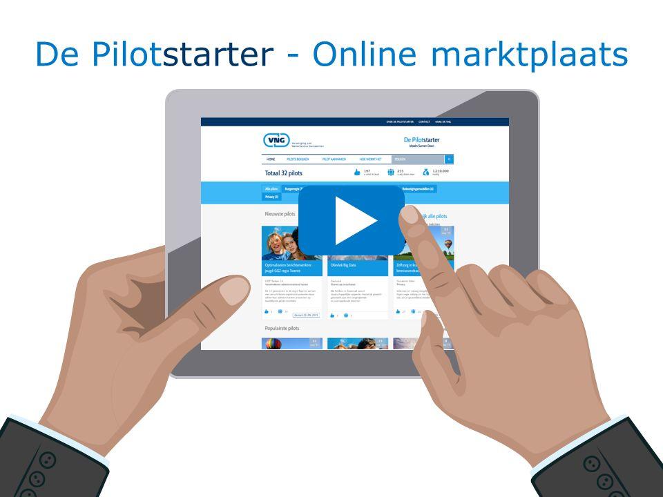De Pilotstarter - Online marktplaats