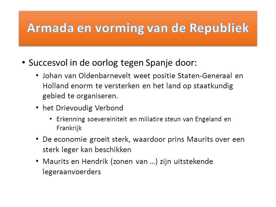 Armada en vorming van de Republiek