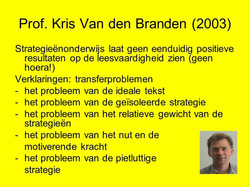 Prof. Kris Van den Branden (2003)