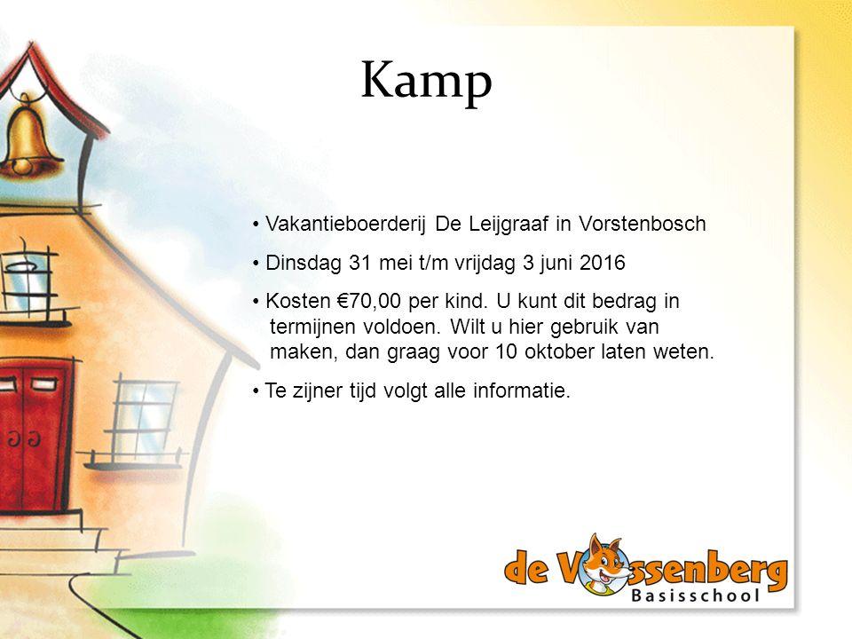 Kamp Vakantieboerderij De Leijgraaf in Vorstenbosch
