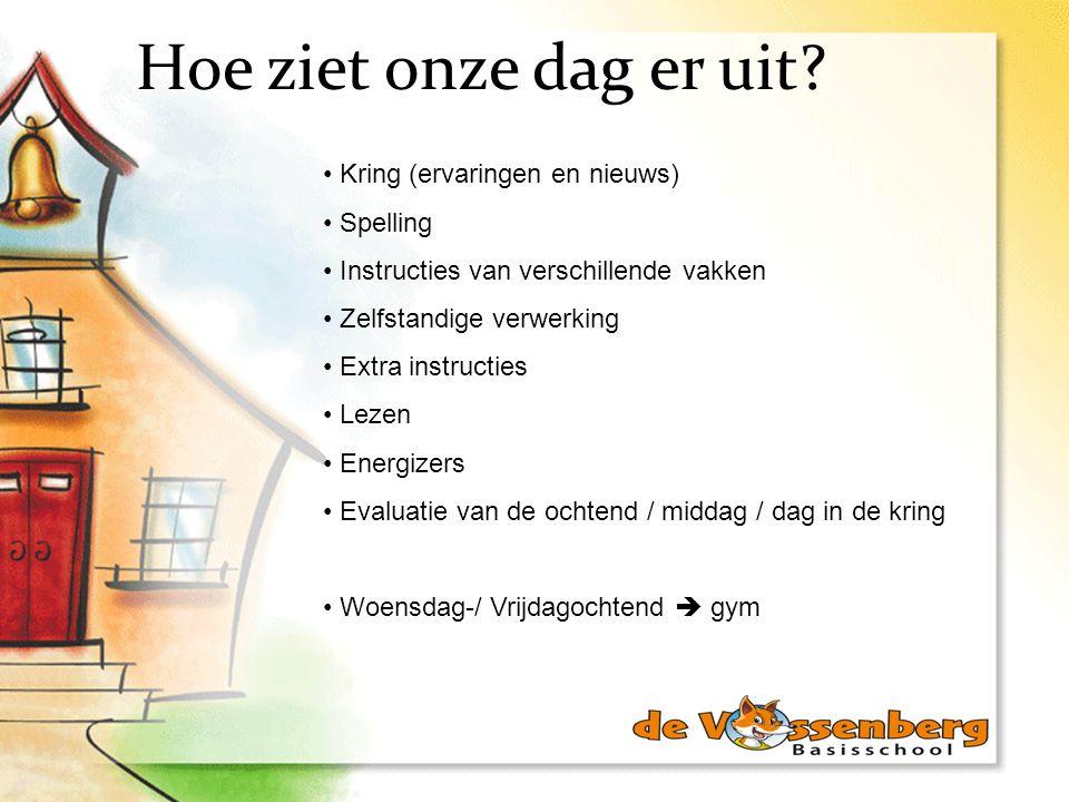 Hoe ziet onze dag er uit Kring (ervaringen en nieuws) Spelling