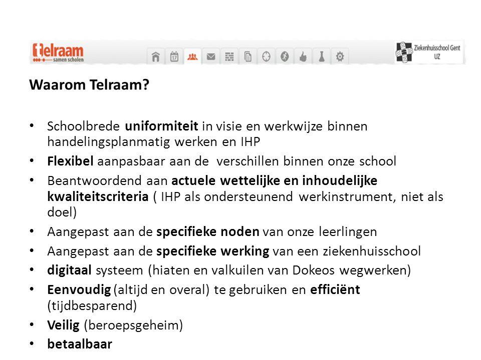Waarom Telraam Schoolbrede uniformiteit in visie en werkwijze binnen handelingsplanmatig werken en IHP.