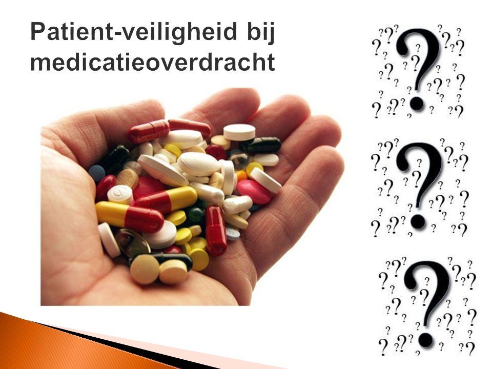Patient-veiligheid bij medicatieoverdracht