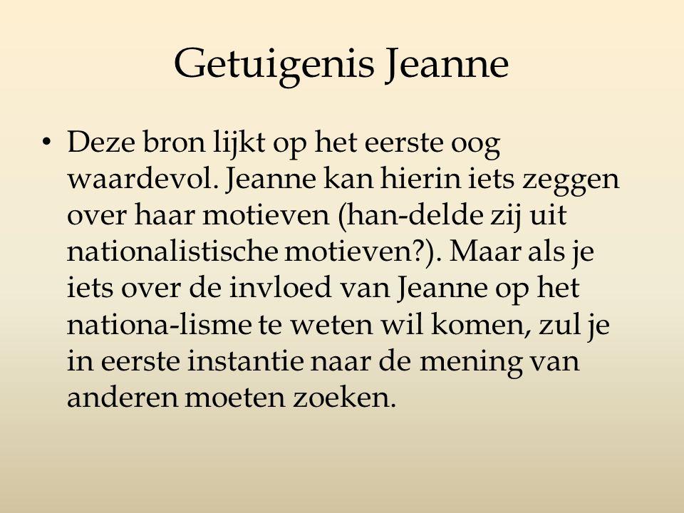 Getuigenis Jeanne