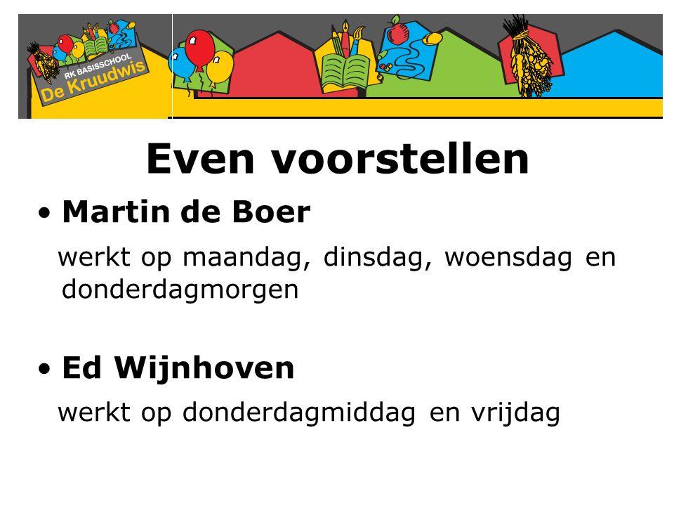 Even voorstellen Martin de Boer