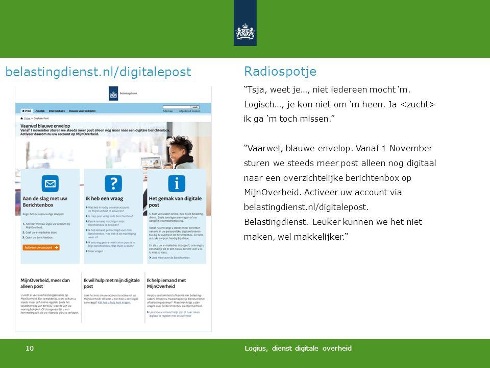 belastingdienst.nl/digitalepost