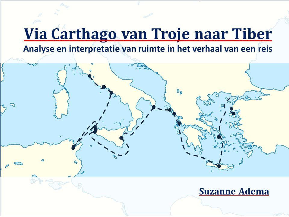Via Carthago van Troje naar Tiber