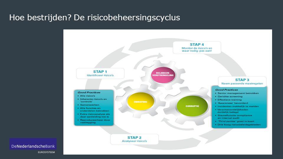 Hoe bestrijden De risicobeheersingscyclus