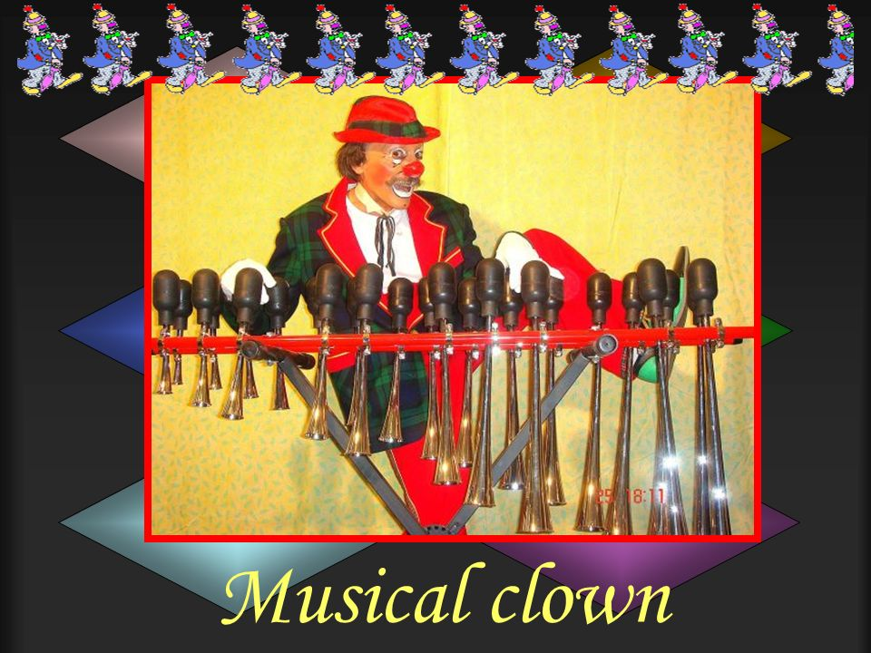 Musical clown