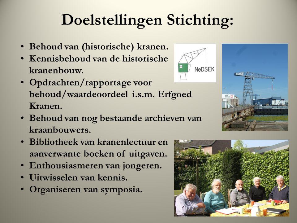 Doelstellingen Stichting: