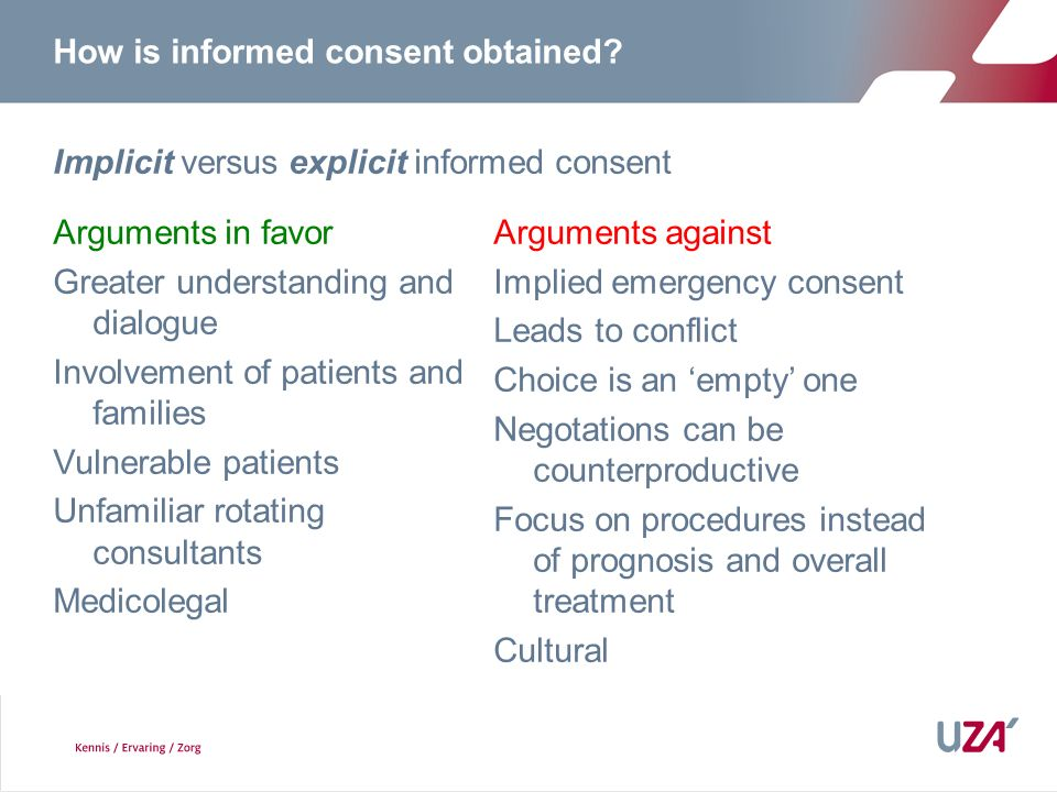 How is informed consent obtained