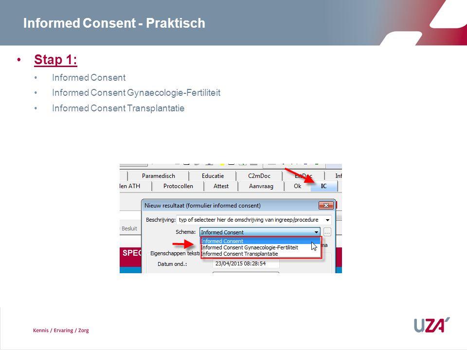 Informed Consent - Praktisch