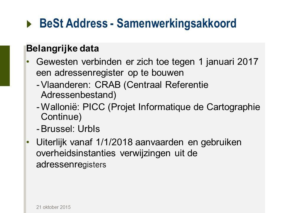 BeSt Address - Samenwerkingsakkoord