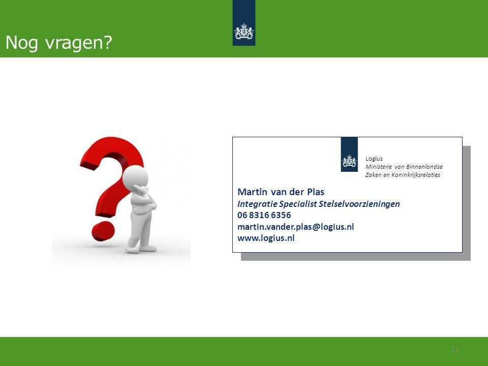 Nog vragen Martin van der Plas