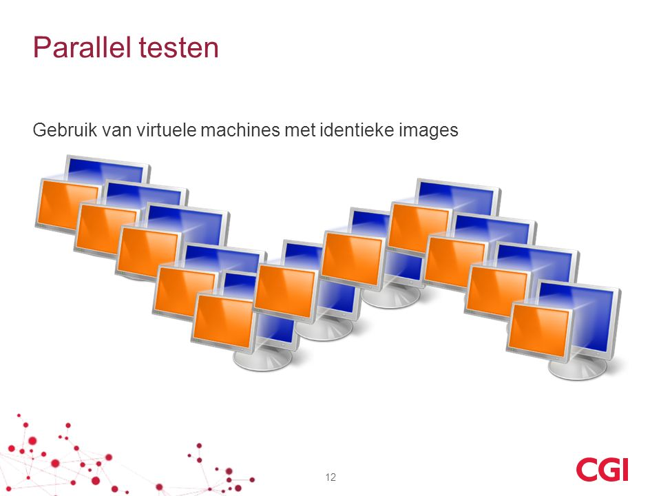 Parallel testen Gebruik van virtuele machines met identieke images