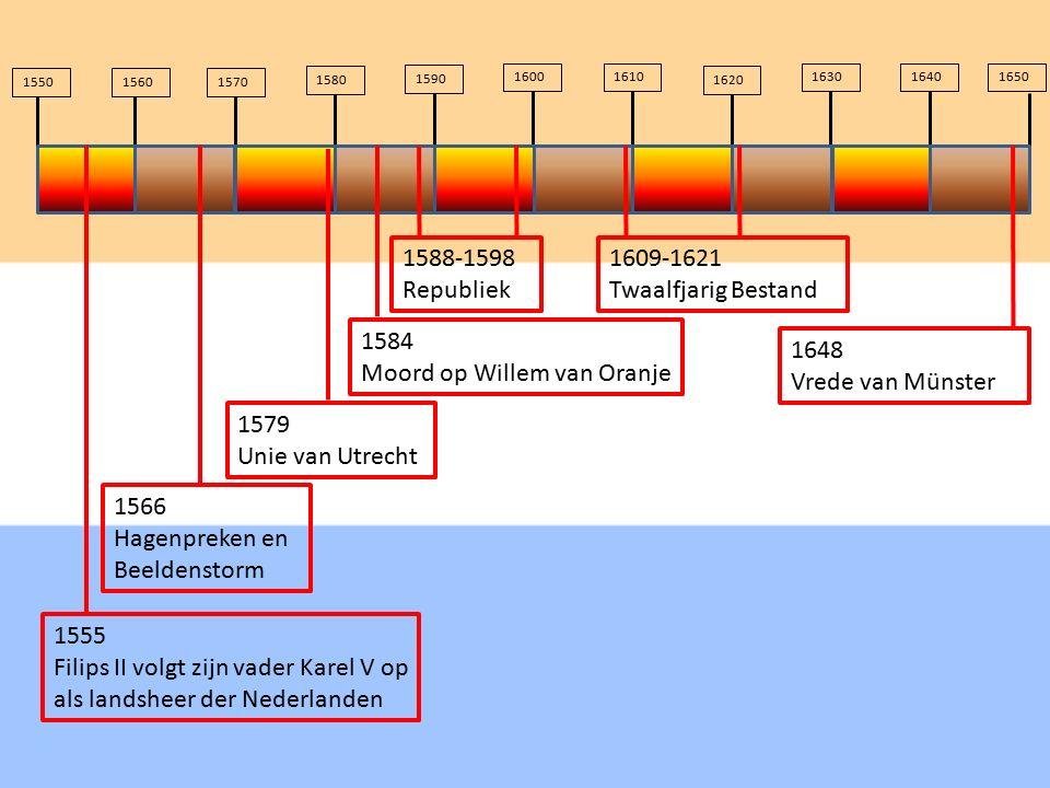 Moord op Willem van Oranje 1648 Vrede van Münster