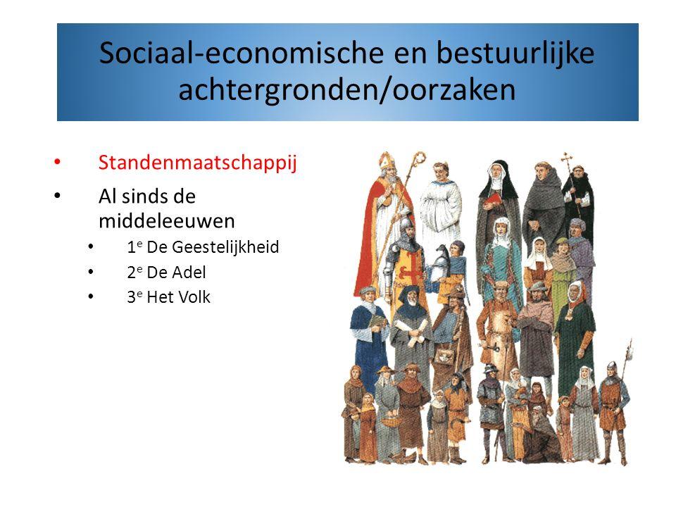 Sociaal-economische en bestuurlijke achtergronden/oorzaken