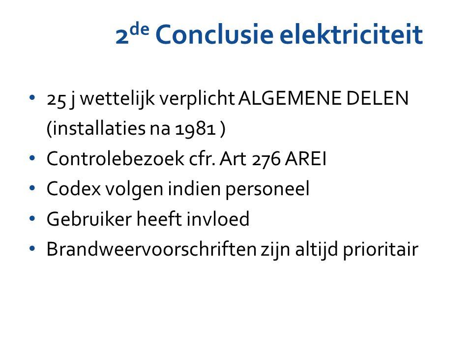 2de Conclusie elektriciteit