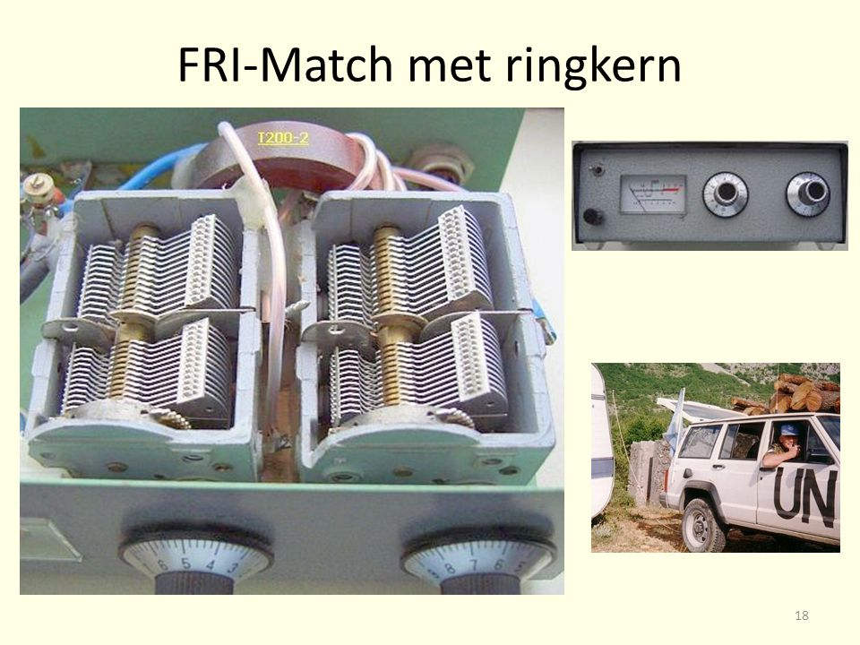 FRI-Match met ringkern