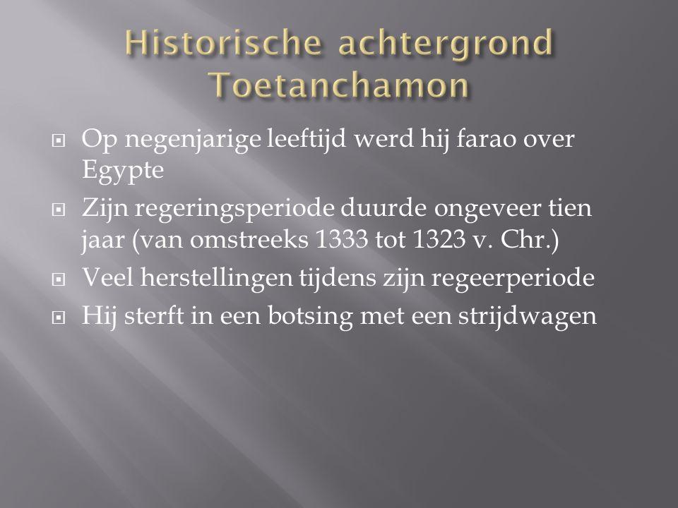 Historische achtergrond Toetanchamon
