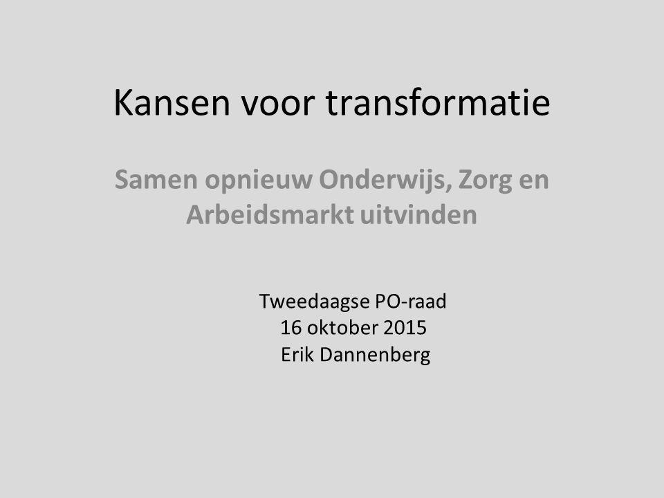 Kansen voor transformatie