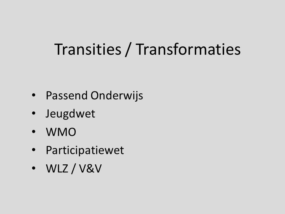 Transities / Transformaties
