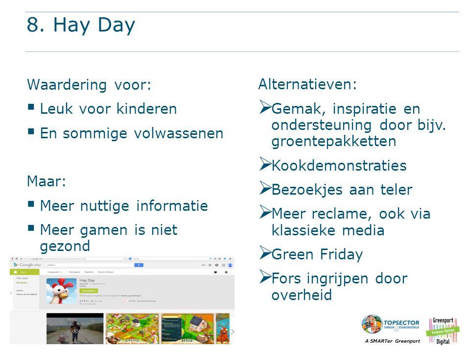 8. Hay Day Waardering voor: Leuk voor kinderen En sommige volwassenen