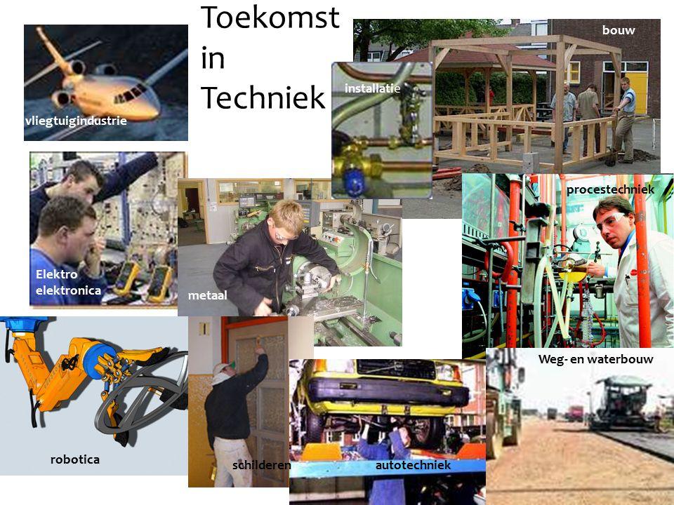 Toekomst in Techniek bouw installatie vliegtuigindustrie