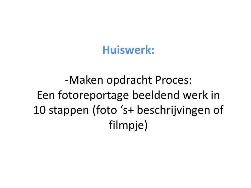 -Maken opdracht Proces: