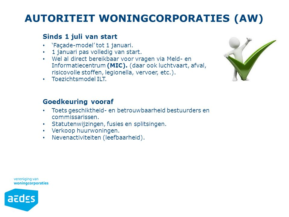 Autoriteit Woningcorporaties (AW)