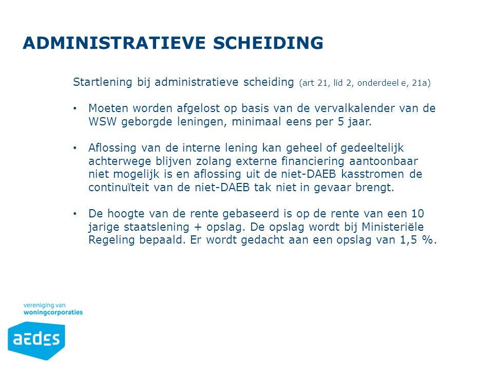 Administratieve scheiding