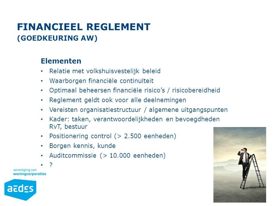Financieel Reglement (goedkeuring Aw)