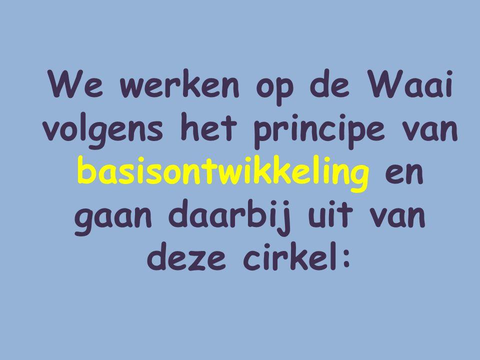 We werken op de Waai volgens het principe van basisontwikkeling en