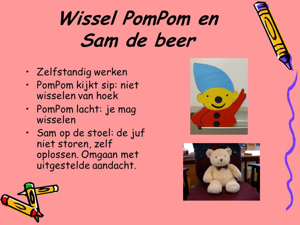 Wissel PomPom en Sam de beer