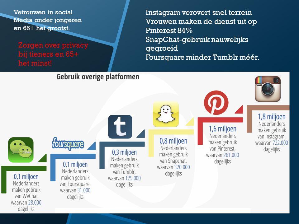 Instagram verovert snel terrein